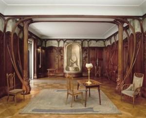 Wnętrze w stylu Art Nouveau