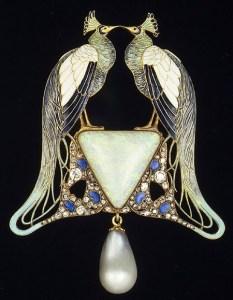 Biżuteria autorstwa  René Lalique[