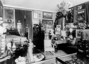 Wnętrze mieszkania Feliksa Jasieńskiego