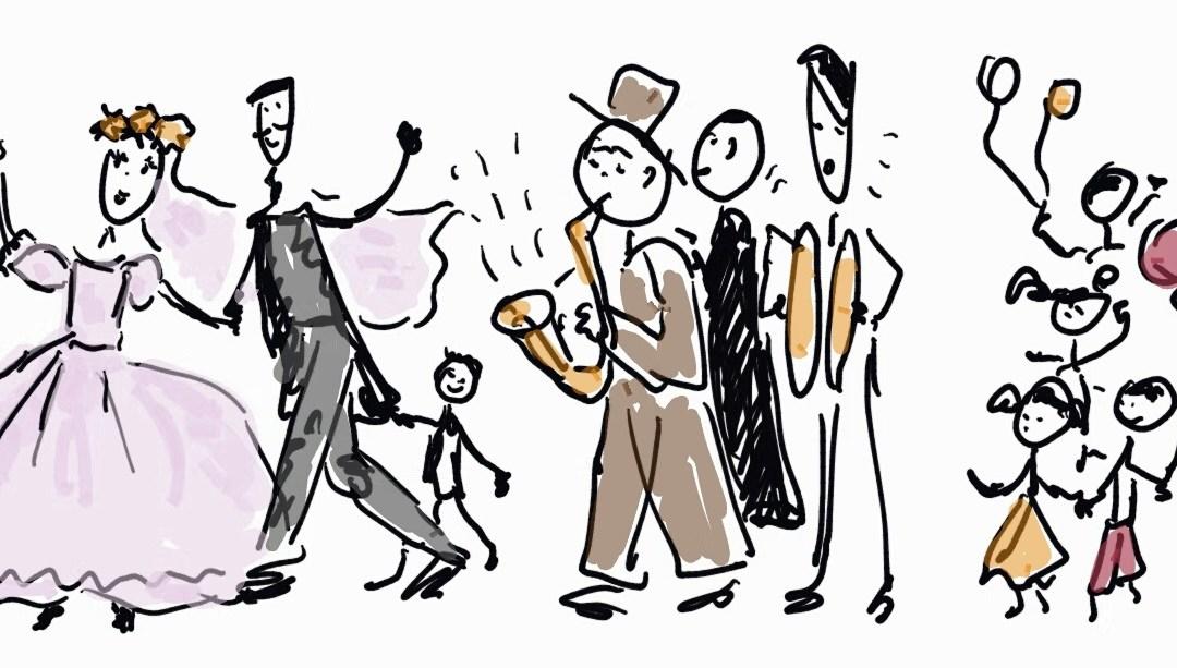 """Wesela """"na niby"""" – Montmartre i parada Poulbota"""