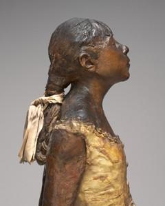 """""""Mała czternastoletnia tancerka"""" 1881- Edgar Degas"""