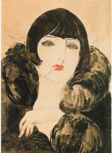 Kees Van Dongen, Kobieta z papierosem