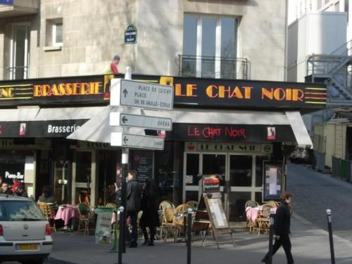 Chat Noir Pierwszy Artystyczny Kabaret O P Nocy W Pary U