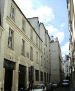 Rue Visconti w obecnych czasach