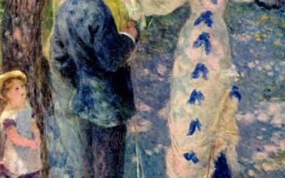 """""""Huśtawka"""" 1876 Auguste Renoir"""
