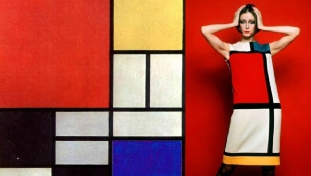 Yves Saint Laurent i kolekcja Mondrian