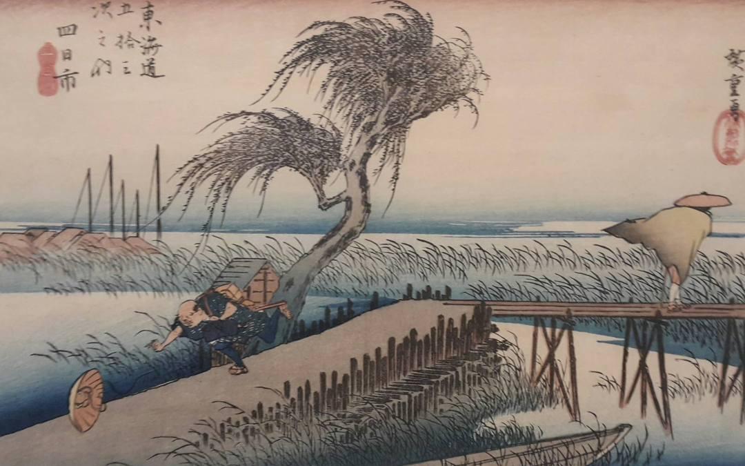 Wystawa drzeworytów japońskich – co ma wspólnego z Paryżem?