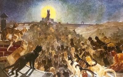 Théophile Steinlen i jego koty