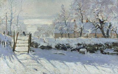 """""""Sroka"""" 1868 -1869 Claude Monet"""