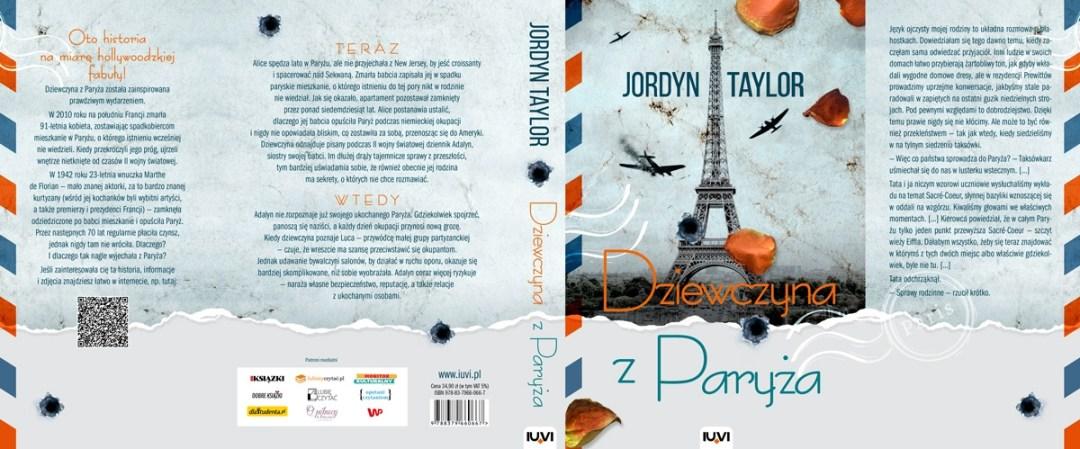 """Jordyn Taylor """"dziewczyna z paryża"""""""