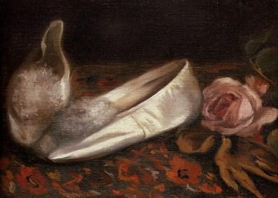 """Eva Gonzales """"Białe buty"""" 1880"""