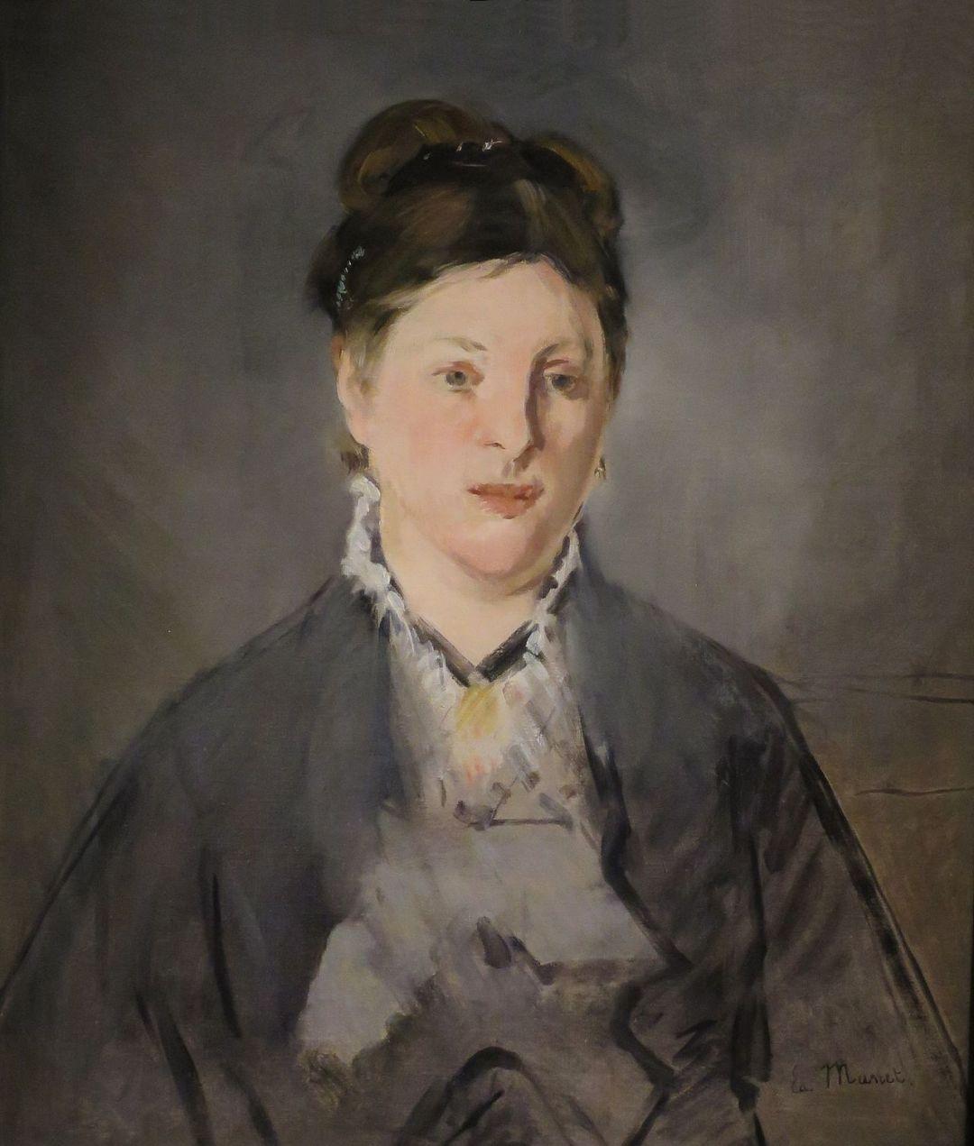 """Edouard Manet """"Portret Suzanne Manet"""" 1870"""
