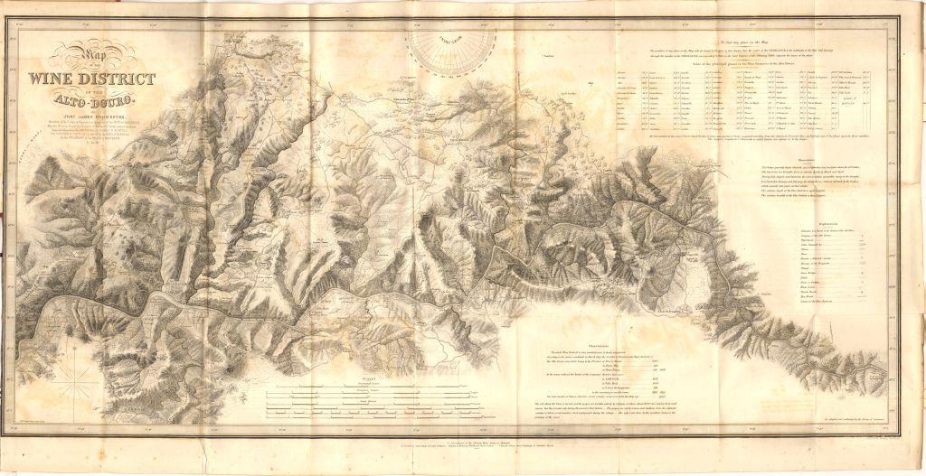 Alto_Douro_Forrester_mapa