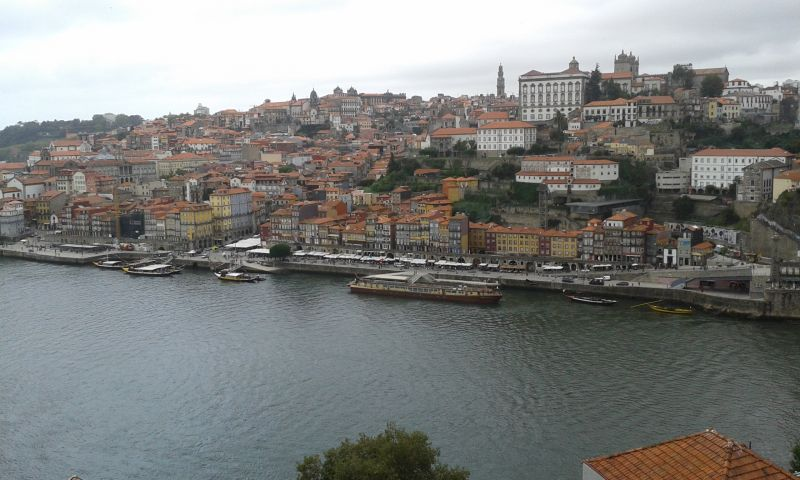Porto z mostu Ludvíka I.