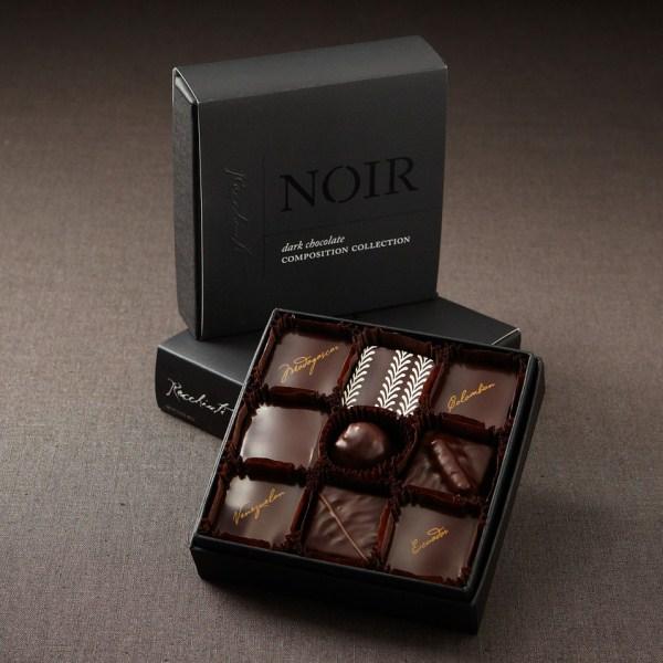 Čokoládové bonbóny s lanýži (zdroj: recchiutti.com)