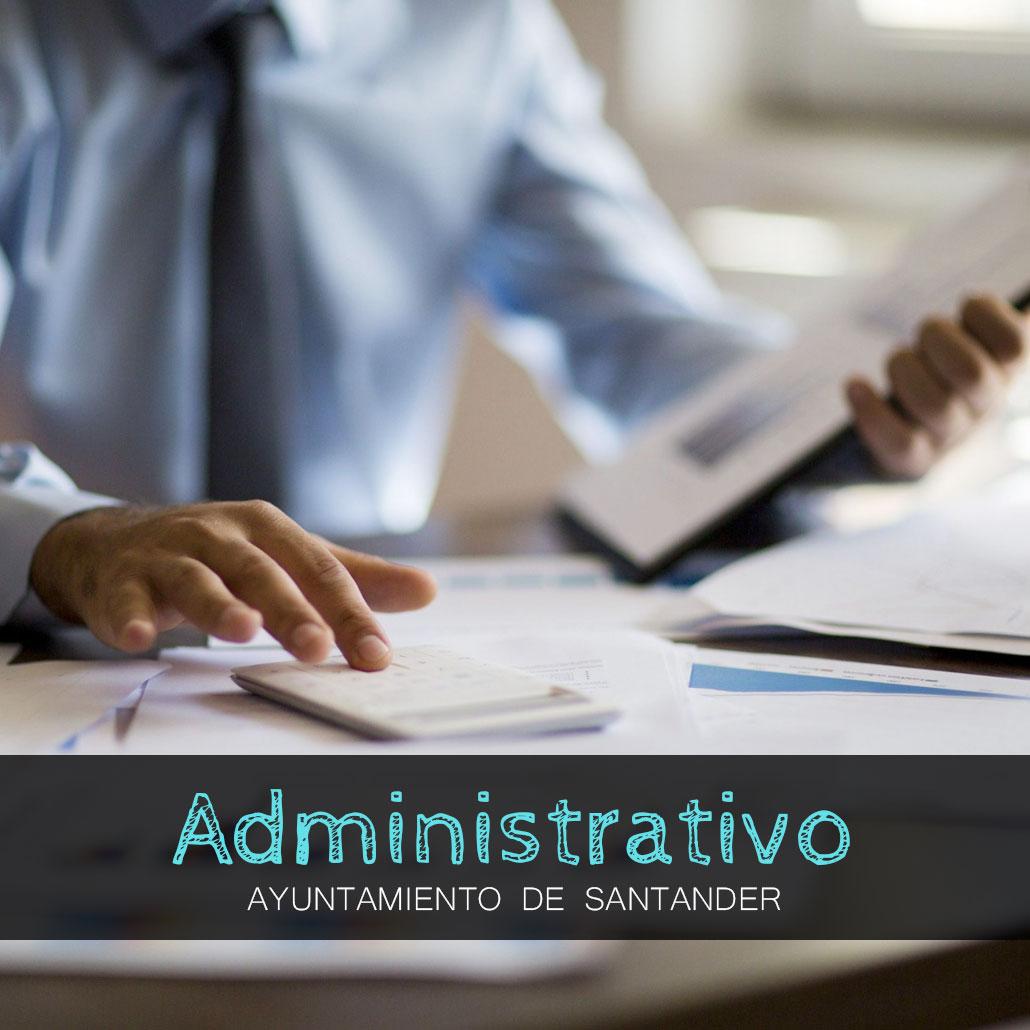 oposiciones santander administrativo