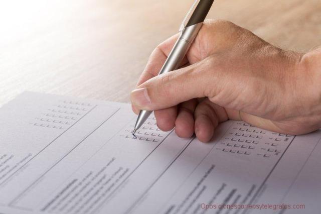 Publicados los cuestionarios del examen de la convocatoria 2017