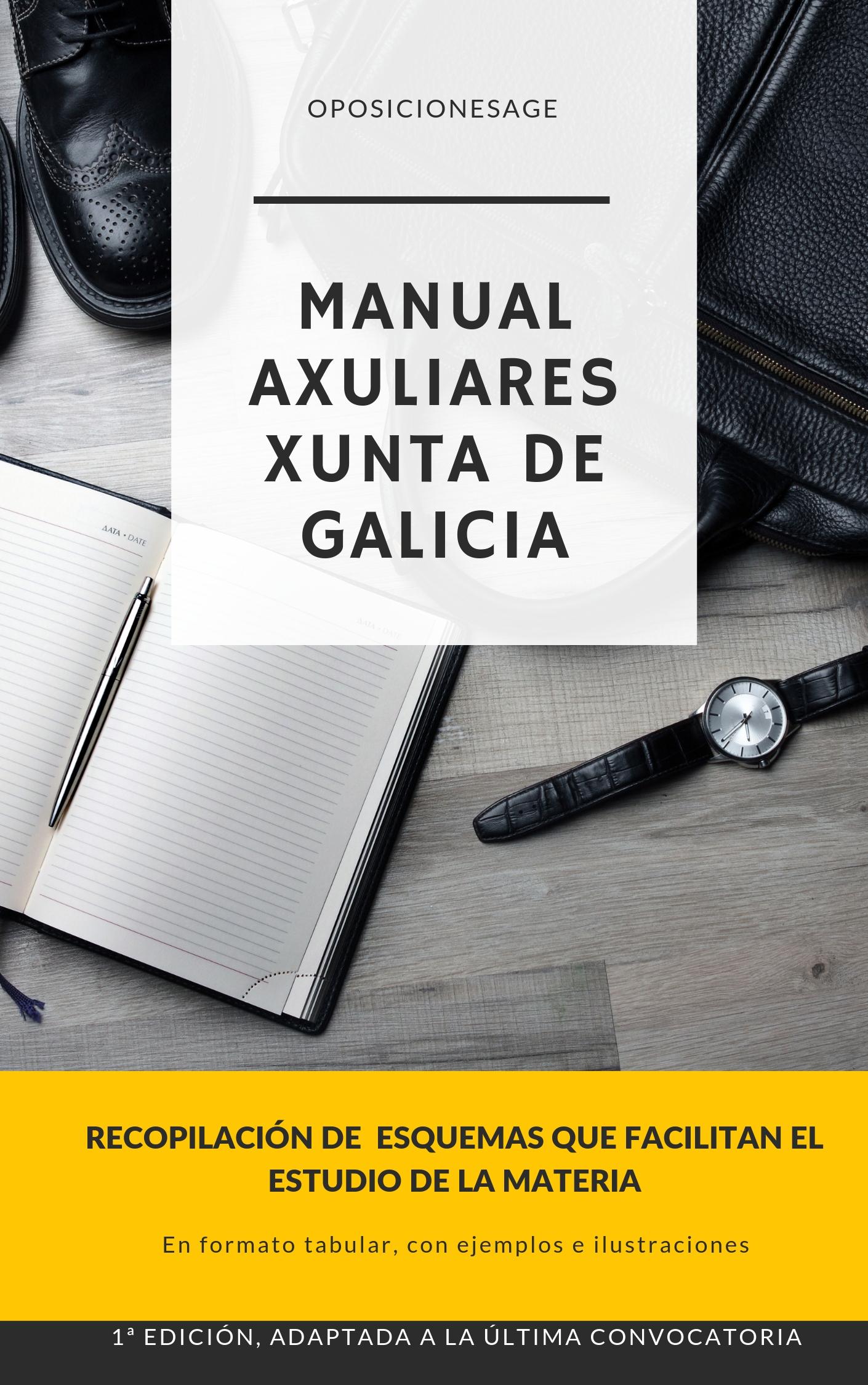 MANUAL AUXILIARES DE LA XUNTA DE GALICIA