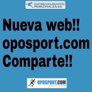 Nueva web de Oposport