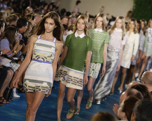 Tory Burch - Verão 2014 (Foto: Getty Images)