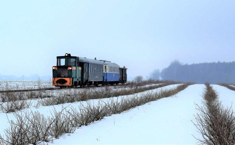 Pomysł naferie: podróż zabytkowym pociągiem