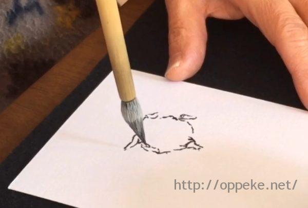 【絵手紙動画】題材は最近わが家でブームのコレな~に?当てたら天才!