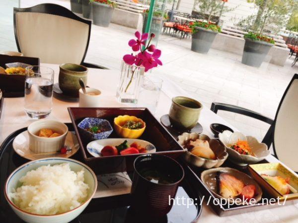 ラスイート神戸,朝食,和食
