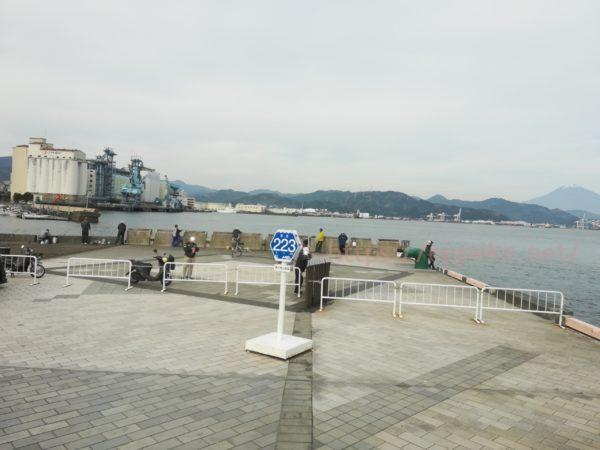駿河湾フェリー,県道
