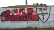 #OpValentine wall art