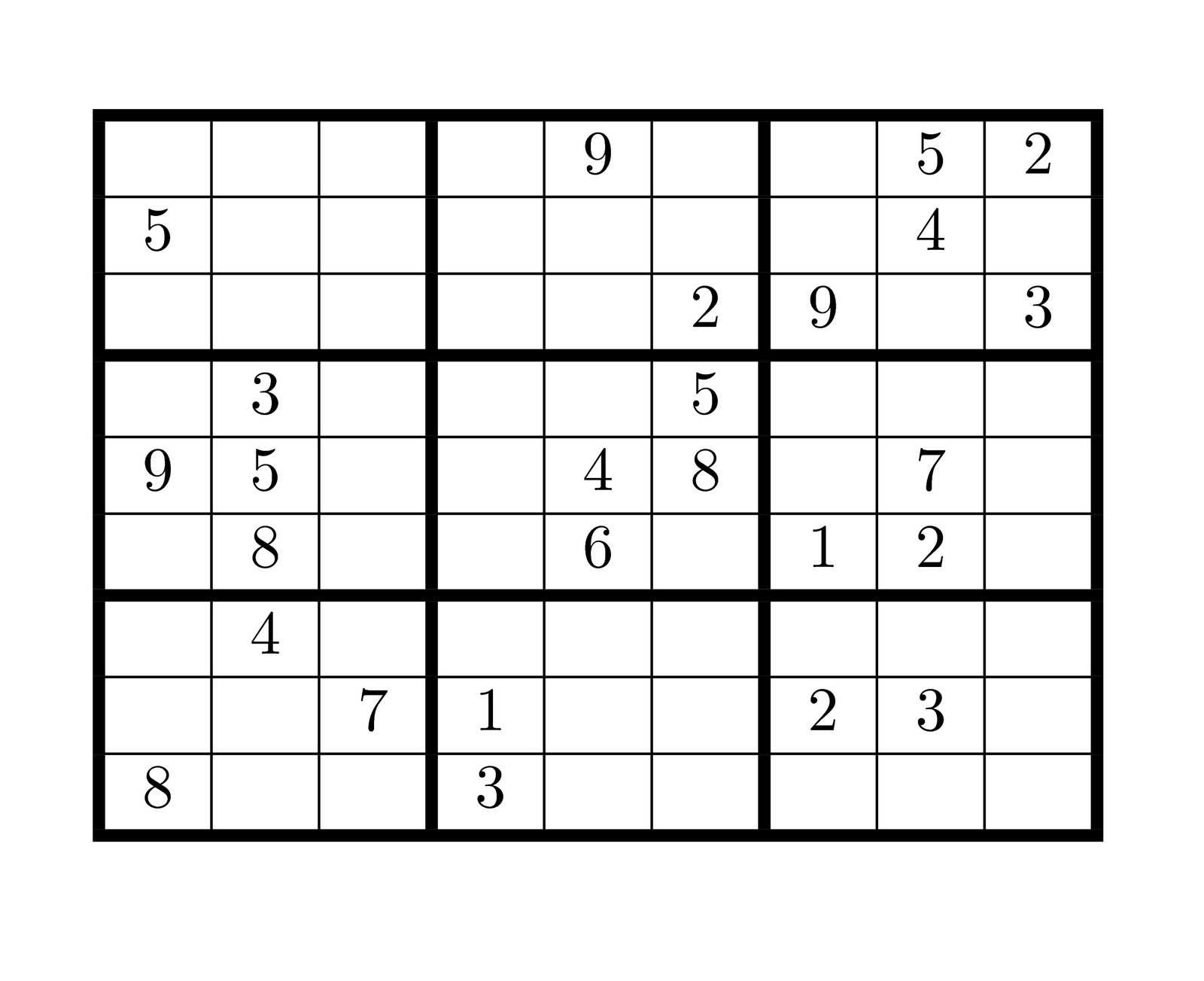 Sudoku Blank Quote Images Hd Free