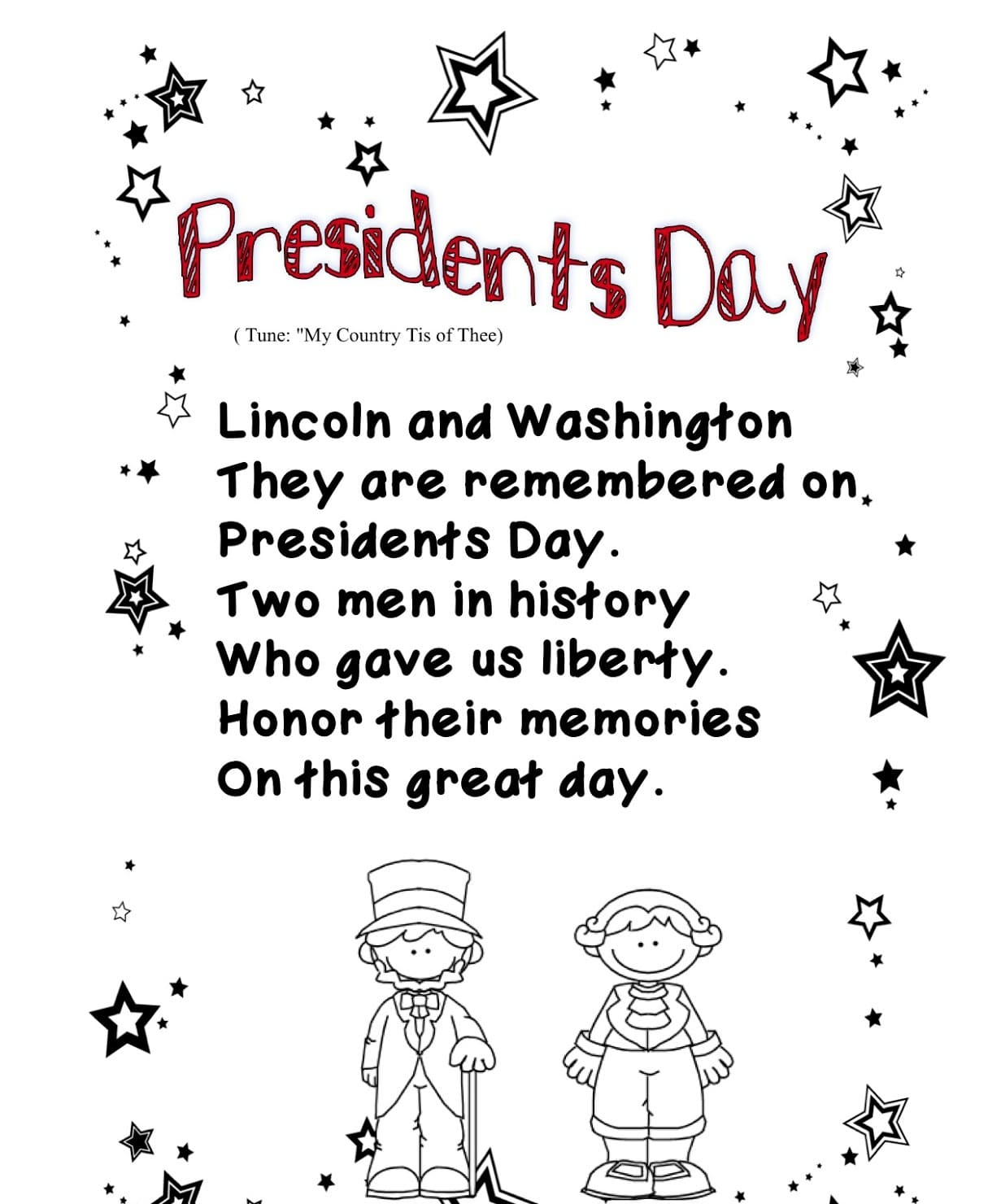 Presidents Day Poem Free Quote Images Hd Free
