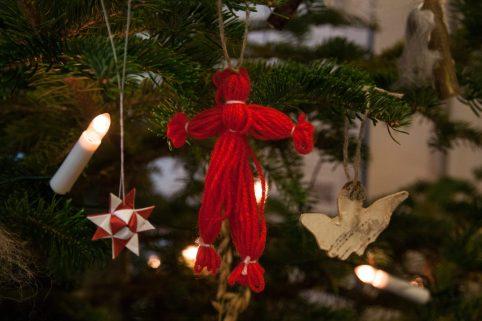 Juleverksted nisse, figur og stjerne