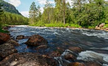 Tur til Rjukanfossen i Tovdal 2014. Foto: Geir Daasvatn