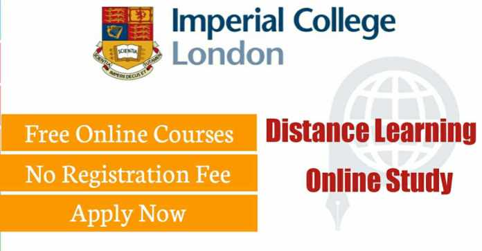 Imperial College London UK Free Online Courses 2020 – Apply Now