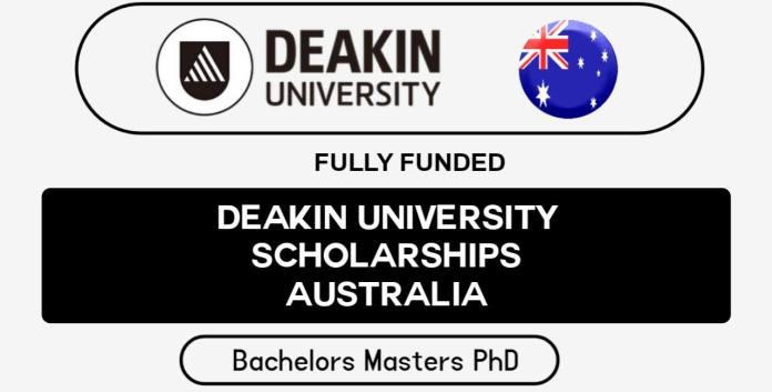 Deakin University Scholarships 2022 in Australia (Fully Funded)