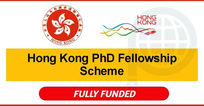 Hong Kong PhD Fellowship Scheme 2021 - Fully Funded (300 Awards)