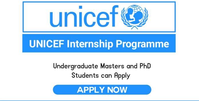 UNICEF Internship Program 2022 for International Students (Funded)