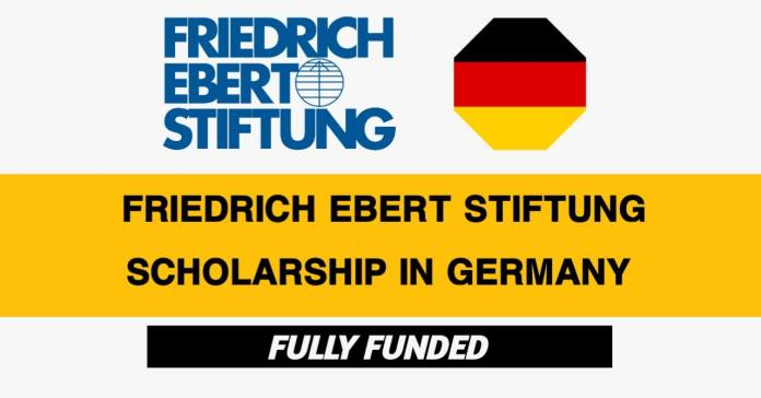 Friedrich Ebert Stiftung Scholarships 2021-22 in Germany (Fully Funded)