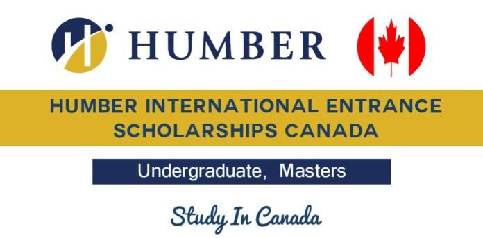 International Entrance Scholarships 2022 at Humber College Toronto Canada.