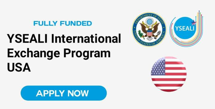 YSEALI Exchange Program in the USA 2022 (Fully Funded)