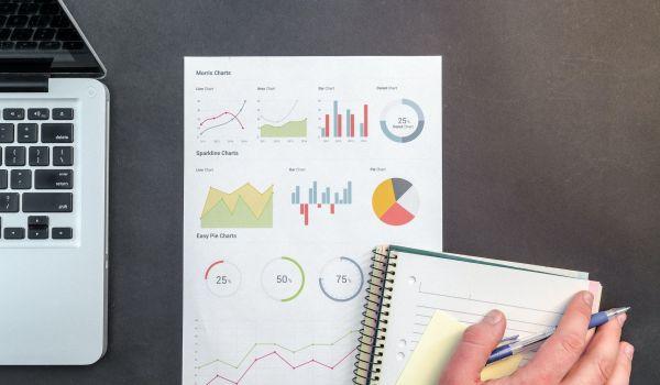 Gráficos de estadísticas sobre el publico objetivo