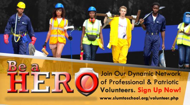 Apply: Slum2School Africa Volunteer Recruitment for 2016/2017