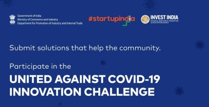 DPIIT/Startup India United Against COVID-19 Innovation Challenge 2020    Opportunity Desk