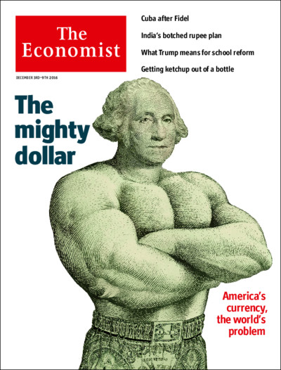 Economist Cover - US Dollar