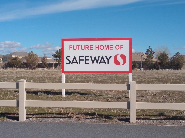 Future Home of Safeway