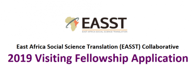 East Africa Social Science Translation (EASST) Collaborative 2019 Visiting Fellowship for African researchers (Fully Funded to University of California, USA)
