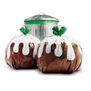 crap christmas gifts pudding bin bags