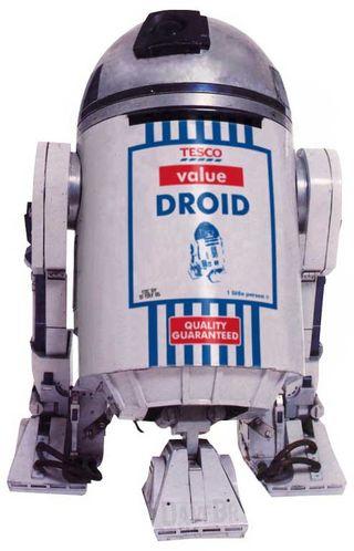 Tesco robots