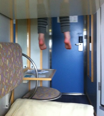 France by ferry Brittany Ferries cabin