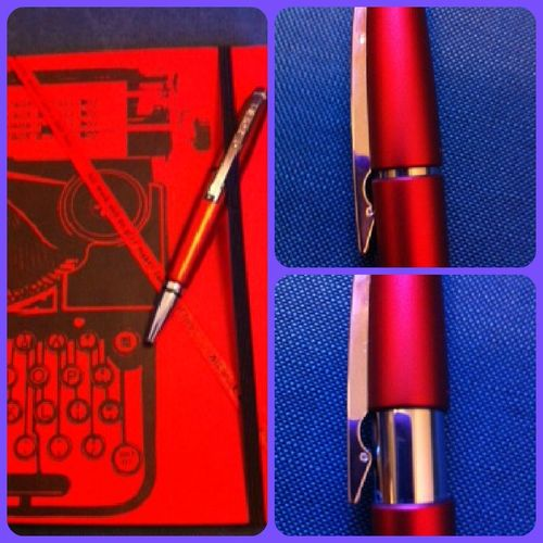 cross pens edge pen red